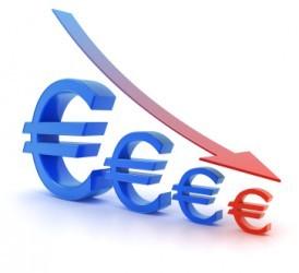 Forex: L'euro affonda al di sotto di 1,29 dollari