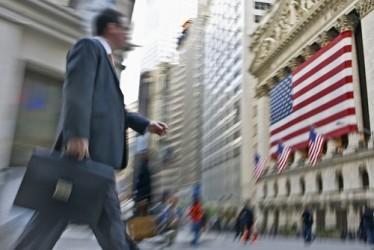 Wall Street, la famosa strada di New York, centro della finanza mondiale