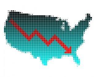 USA: Forte calo dell'indice Fed Chicago dell'attività nazionale