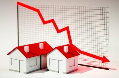 USA: Inatteso calo delle vendite di case in corso