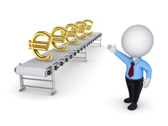 Eurozona: Il Sentix balza a dicembre a -2,5 punti
