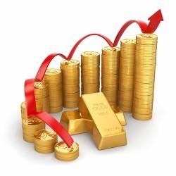 Il prezzo dell'oro balza al di sopra di 1.200 dollari