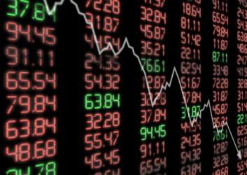 Borse europee negative a metà giornata, elevata volatilità