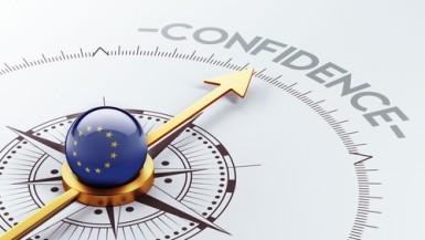 Eurozona, fiducia economica in leggero aumento a gennaio