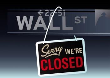 Wall Street è oggi ferma per il Martin Luther King Jr. Day