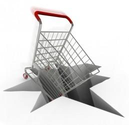 USA, consumi -0,3% a dicembre, più forte calo dal 2009