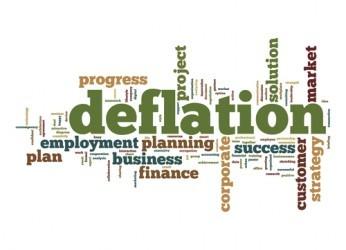 Eurozona in deflazione per il quarto mese di fila
