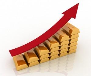 Il prezzo dell'oro allunga e chiude sopra 1.200 dollari