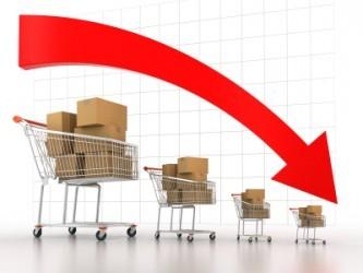 USA, le vendite al dettaglio calano per il terzo mese di fila