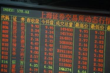 Borse Asia-Pacifico: Shanghai scende, vendite sul settore finanzario