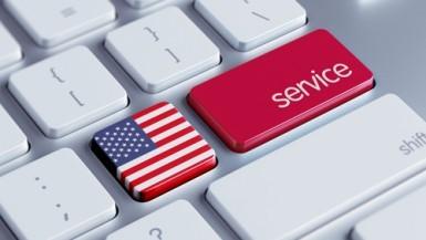 USA, lieve rallentamento del settore dei servizi