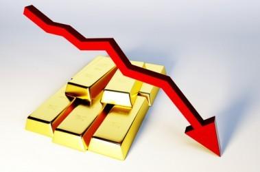 Prezzo oro: La serie negativa sale a sei sedute, minimi da otto mesi