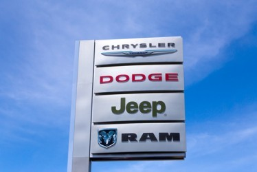 Fiat Chrysler, vendite USA +2%, miglior agosto dal 2002