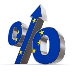 Eurozona: La fiducia economica cresce ancora, massimi da giugno 2011