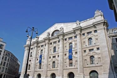 Borsa Milano resta positiva, FTSE MIB +0,5% a metà giornata