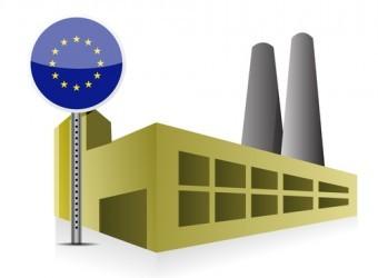 Eurozona, la produzione industriale rimbalza ad ottobre