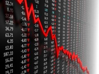 Wall Street incrementa le perdite, petrolio a picco
