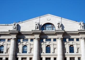 Borsa Milano sopra la parità a metà giornata