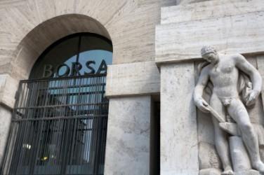 La Borsa di Milano parte in moderato ribasso