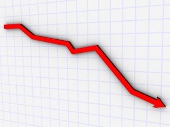 Borsa Milano in rosso a metà giornata, forte volatilità