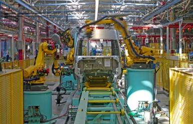 La produzione industriale italiana frena a febbraio