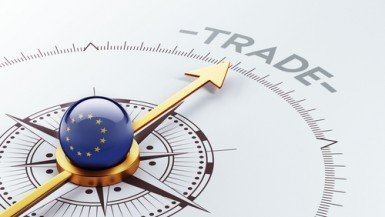 Eurozona, surplus commerciale a 28,6 miliardi a marzo