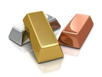 Metalli: Rame in forte calo, l'oro interrompe la serie positiva