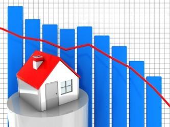USA: Le vendite di case in corso scendono ai minimi da sette mesi