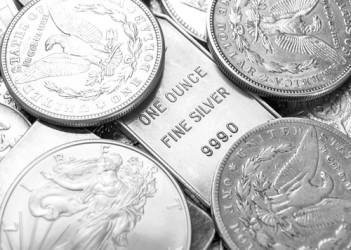 Quotazione argento, modesta ripresa da ipervenduto, il trend resta negativo