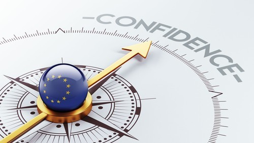 Eurozona: La fiducia economica sale ai massimi da quasi sei anni