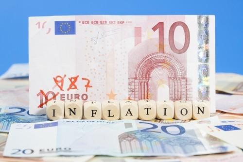 Eurozona: L'inflazione balza ai massimi da quasi quattro anni