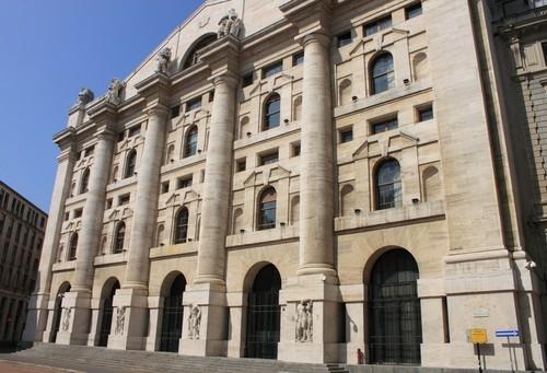 Piazza Affari chiude positiva dopo la BCE, vola UBI Banca