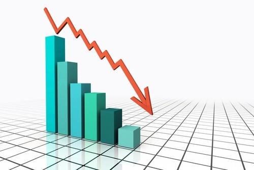 Eurozona, forte calo della produzione industriale a dicembre