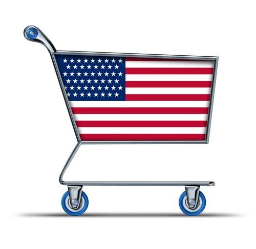 USA, consumi in crescita a gennaio, vendite al dettaglio +0,4%