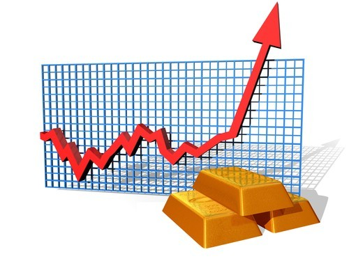 Prezzo oro fino a 1350 dollari l'oncia. Previsioni long sulla quotazione