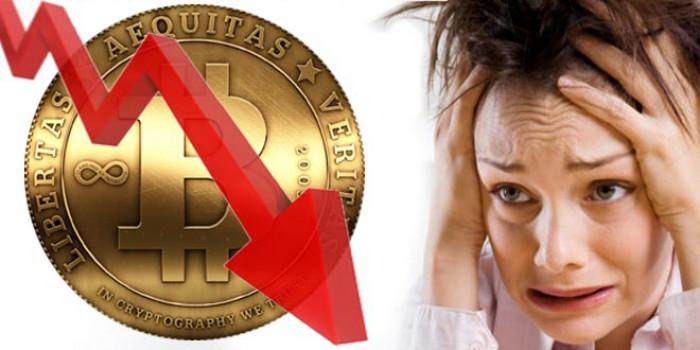 Bitcoin crollo e fuga verso l'oro: panico tra i traders dopo il -40% della quotazione BTC