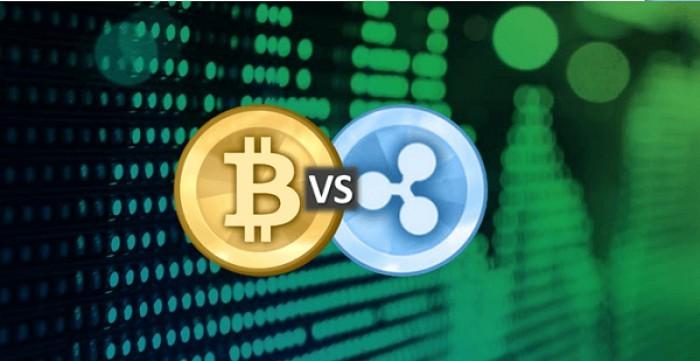 Perchè valore Ripple cala e quotazione Bitcoin aumenta?