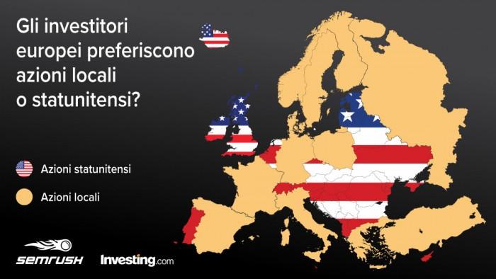 Investire in azioni Usa o azioni europee? Tante sorprese dal report Investing - SEMrush