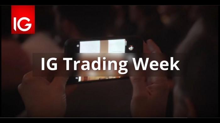 Trading online: evento IG Trading Week per la formazione del trader
