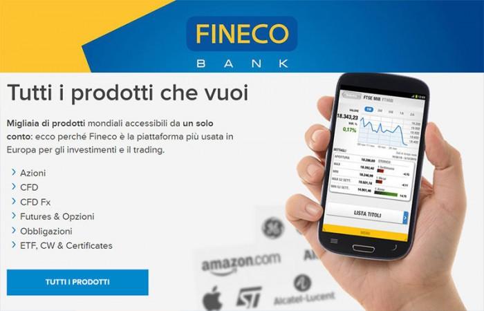 Fineco trading opinioni costi piattaforma: recensioni 2019