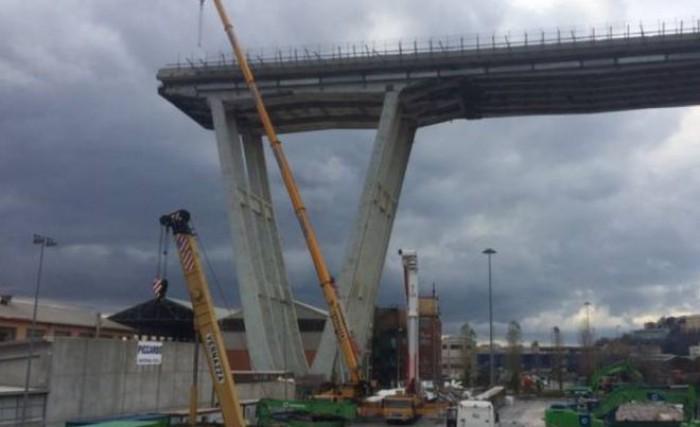 Genova, ricostruzione ponte Morandi: nei lavori impresa vicina alla Camorra