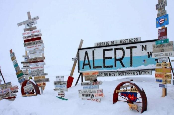 Clima, ad Alert caldo record, è il paese più a nord del pianeta