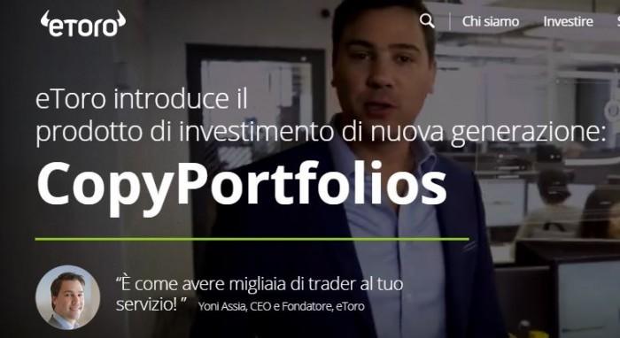 Future Payments eToro: nuovo copy portfolio per investire in aziende leader nei pagamenti
