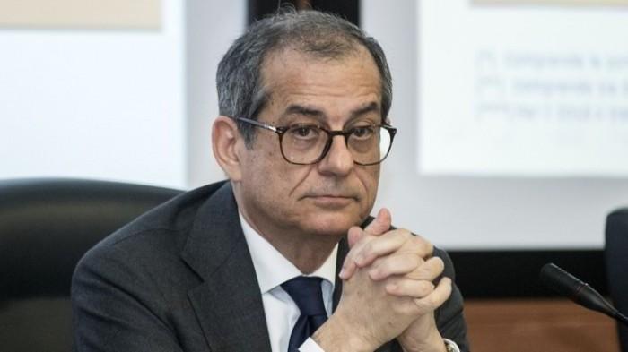 Il Ministro dell'economia Tria