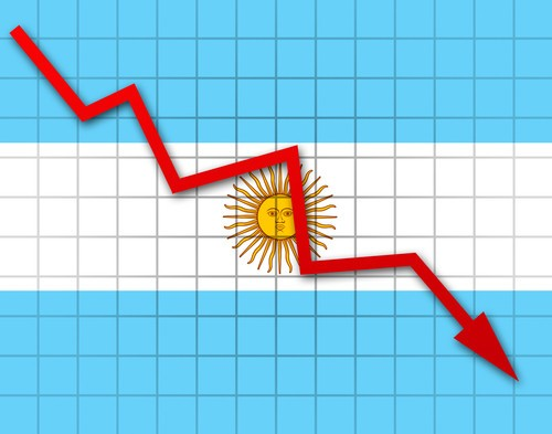 Argentina rischio default: crolla borsa, pesos argentino a picco sul Forex