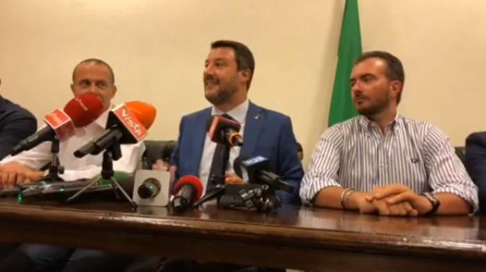 Governo M5S-Pd per Salvini si tratta di un