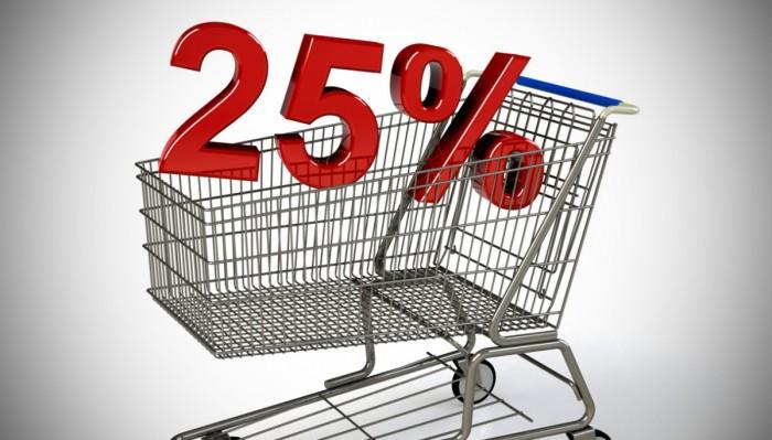 Aumento dell'IVA al 25%