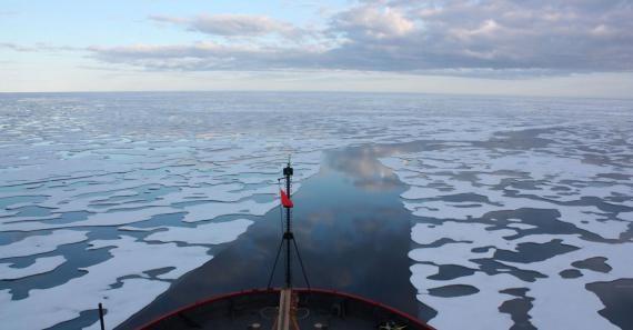Riscaldamento globale, il ghiaccio della Groenlandia si scioglie formando fiumi che solcano il permafrost