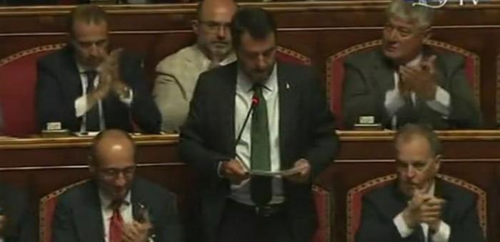Salvini cambia mossa ancora una volta. Ora ritira la mozione di sfiducia a Conte