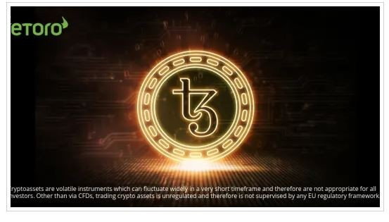 Trading online: Tezos (XTZ) disponibile nel portafoglio criptovalute di eToro